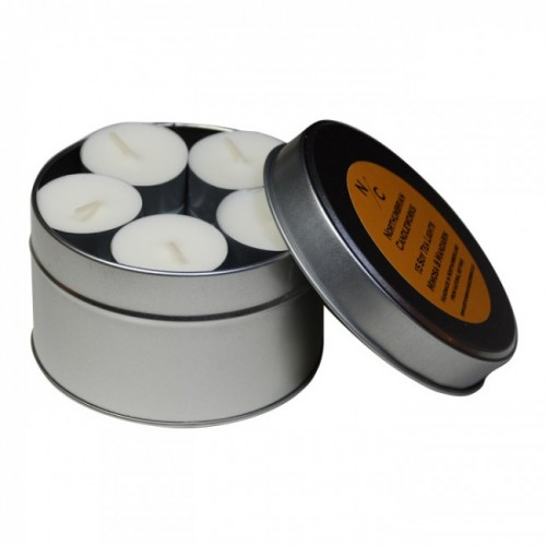 English Rose - Tea Light Tin