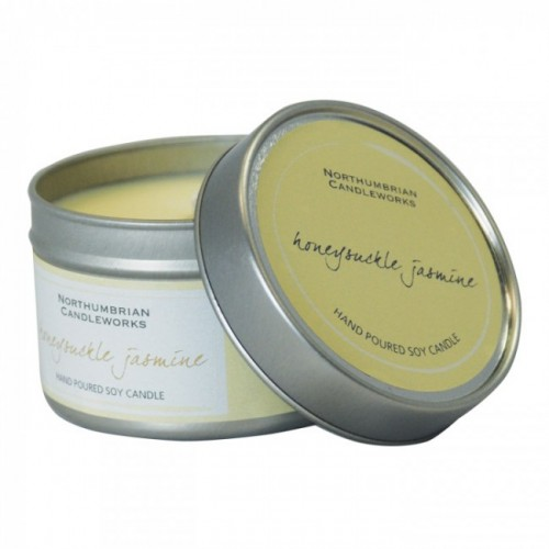 Honeysuckle Jasmine - Large Candle Tin