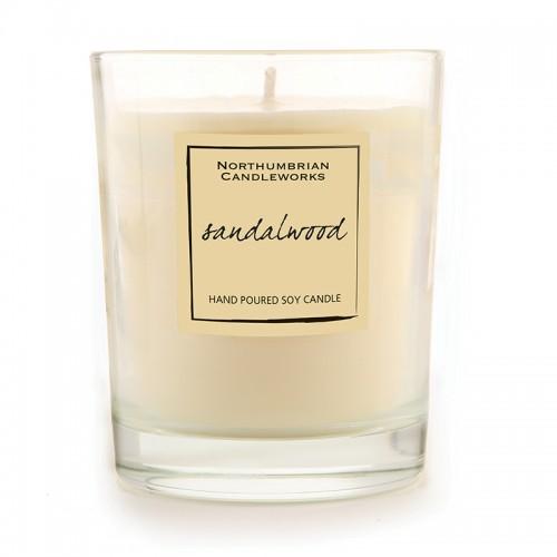 Sandalwood - Glass Candle Jar