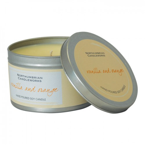 Vanilla & Orange - Large Candle Tin