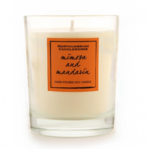 Mimosa & Mandarin - Glass Candle Jar