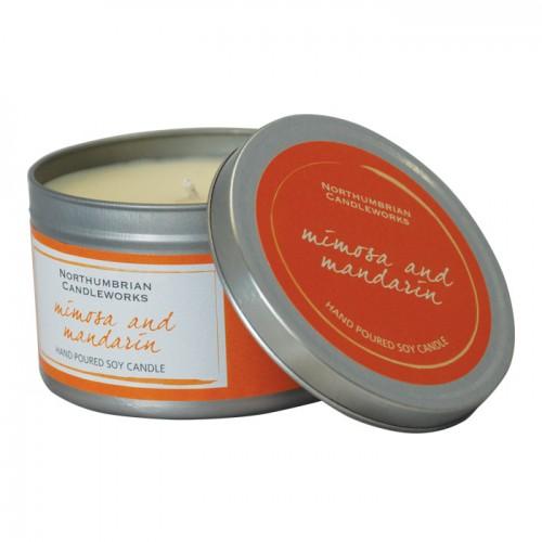Mimosa & Mandarin - Large Candle Tin
