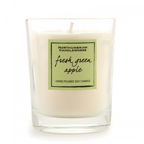 Fresh Green Apple - Glass Candle Jar