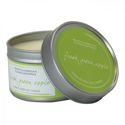 Fresh Green Apple - Large Candle Tin