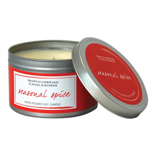 Seasonal Spice - Small Candle Tin