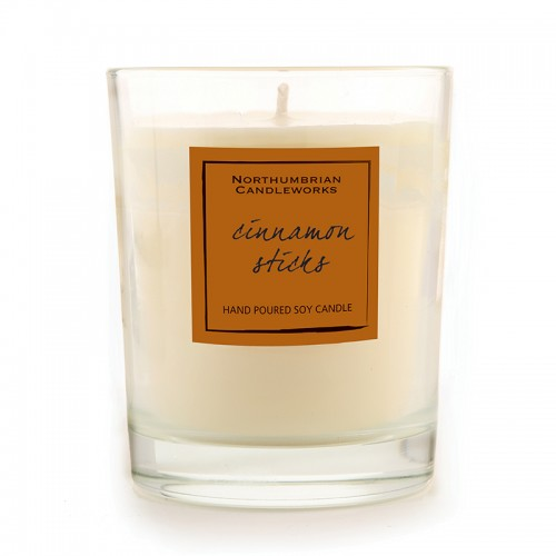 Cinnamon Sticks - Glass Candle Jar