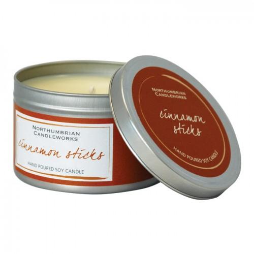 Cinnamon Sticks - Large Candle Tin
