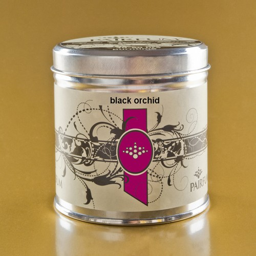 Black Orchid - Large Candle Tin