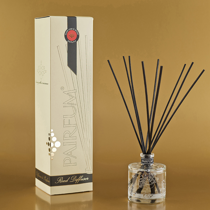 Blush Rose & Amber - Small Reed Diffuser