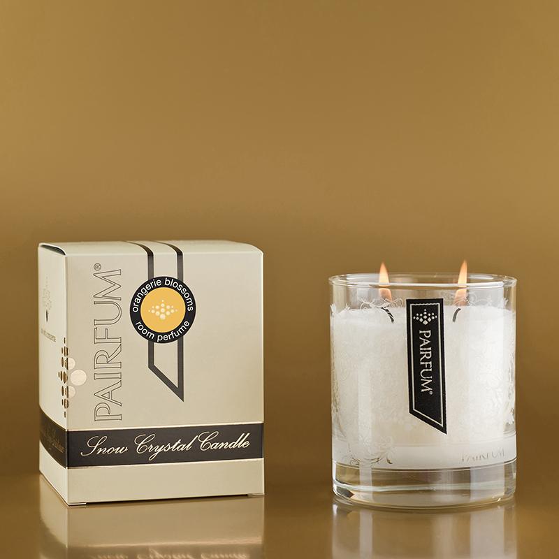 Orangerie Blossoms - Medium Glass Candle Jar