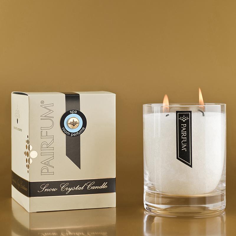 Spa - large Glass Candle Jar