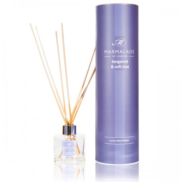 Bergamot & Soft Rose - Reed Diffuser
