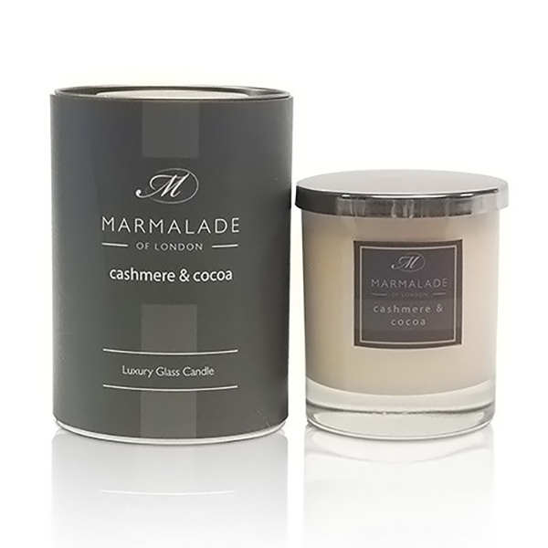 Cashmere & Cocoa - Glass Candle Jar