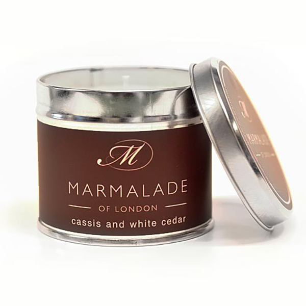 Cassis & White Cedar - Large Candle Tin