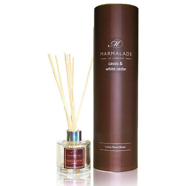 Cassis & White Cedar - Reed Diffuser