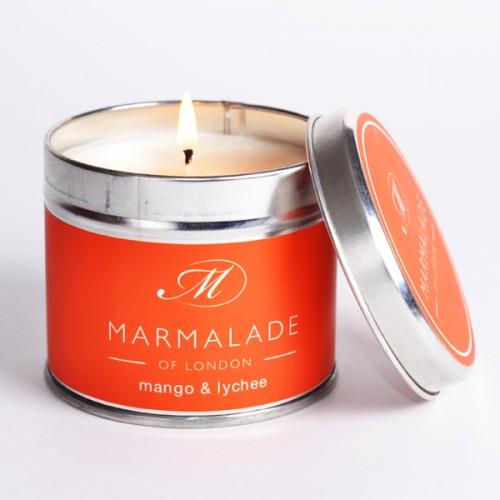Mango & Lychee - Large Candle Tin