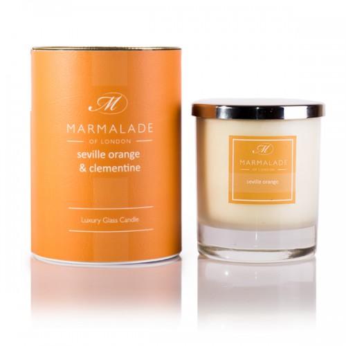 Seville Orange & Clementine - Glass Candle Jar