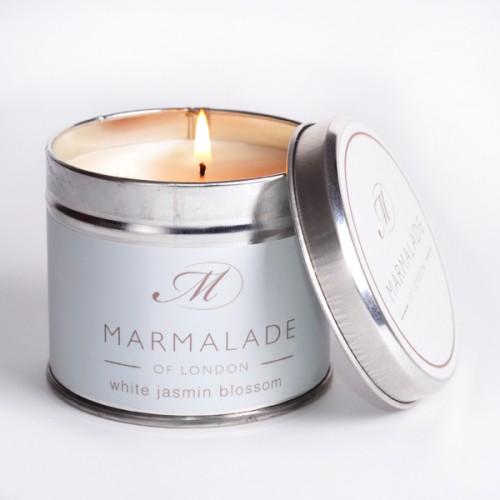 White Jasmine Blossom - Large Candle Tin