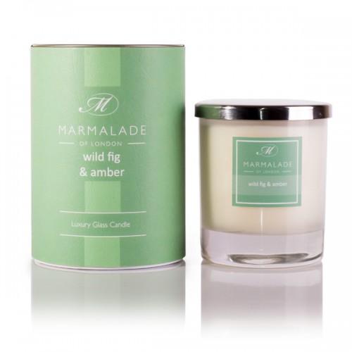 Wild Fig & Amber - Glass Candle Jar