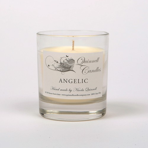 Angelic - Small Candle Glass
