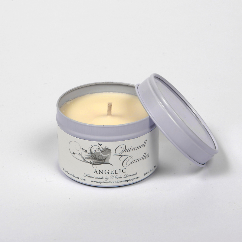 Angelic - Small Candle Tin