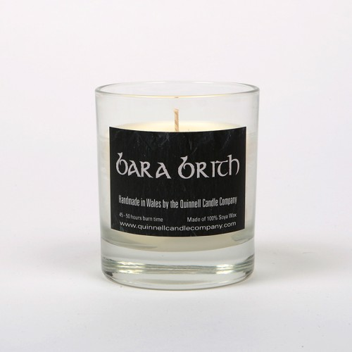 Bara Brith - Small Candle Glass