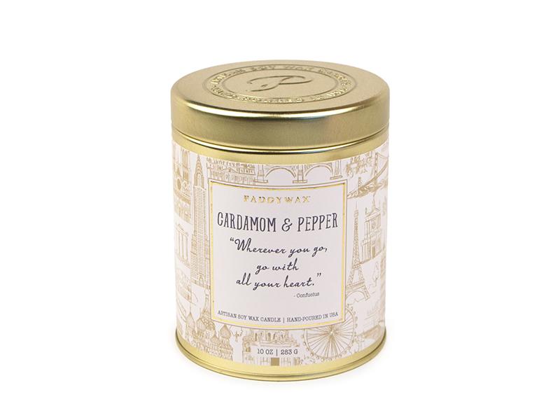 Cardomom & Pepper - Large Candle Tin
