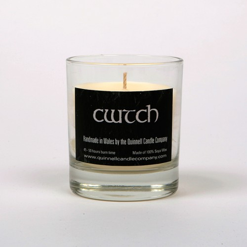 Cwtch - Small Candle Glass