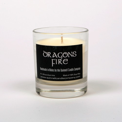 Dragons Fire - Small Candle Glass