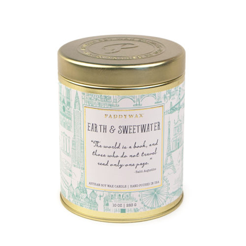 Earth & Sweetwater - Large Candle Tin