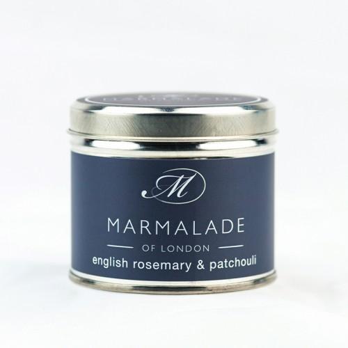 English Rosemary & Patchouli - Large Candle Tin