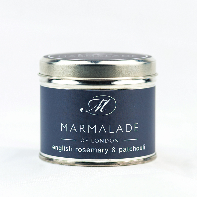 English Rosemary & Patchouli - Large Candle Tin