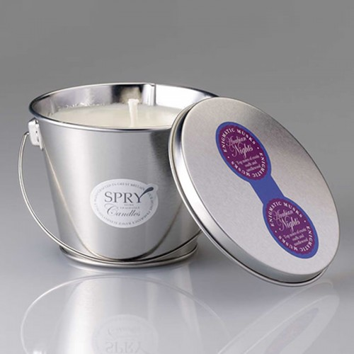 Evening Of The Garden - Pail Candle Tin
