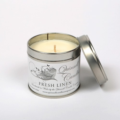 Fresh Linen - Large Candle Tin