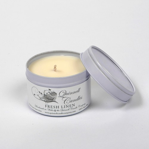 Fresh Linen - Small Candle Tin