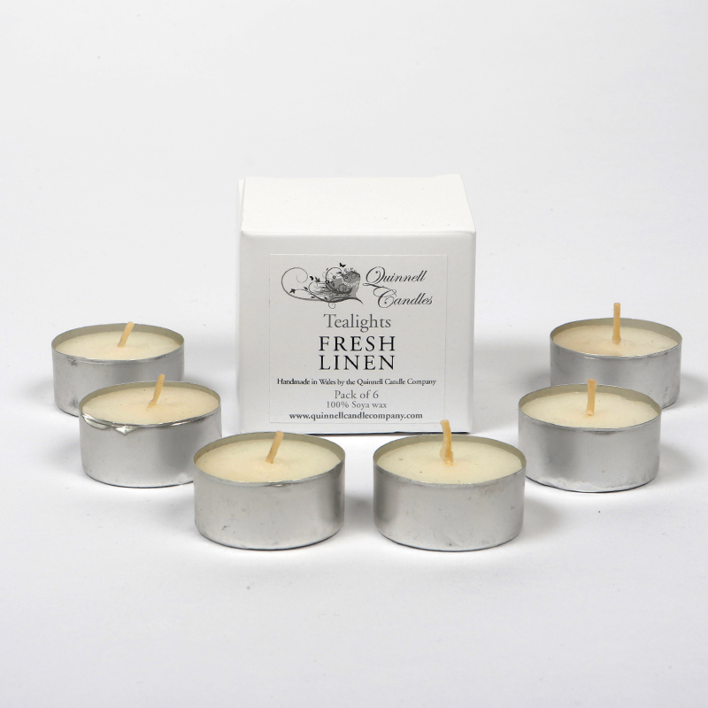 Fresh Linen - Tea Light Box