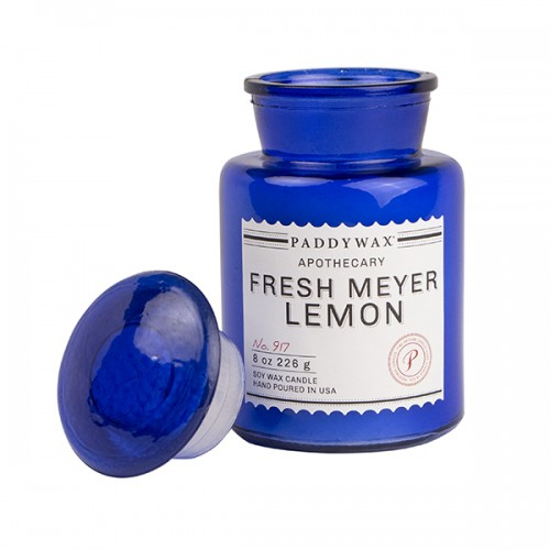Fresh Meyer Lemon - Glass Candle Jar