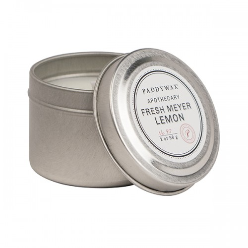 Fresh Meyer Lemon - Small Candle Tin