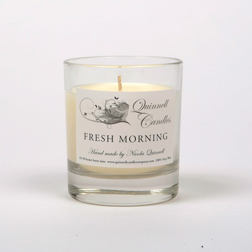 Fresh Morning - Small Candle Glass