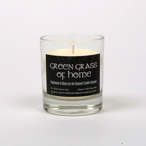 Green Grass of Home - Small Candle Glass