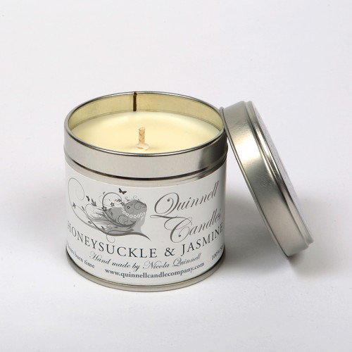 Honeysuckle & Jasmine - Large Candle Tin