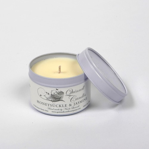Honeysuckle & Jasmine - Small Candle Tin