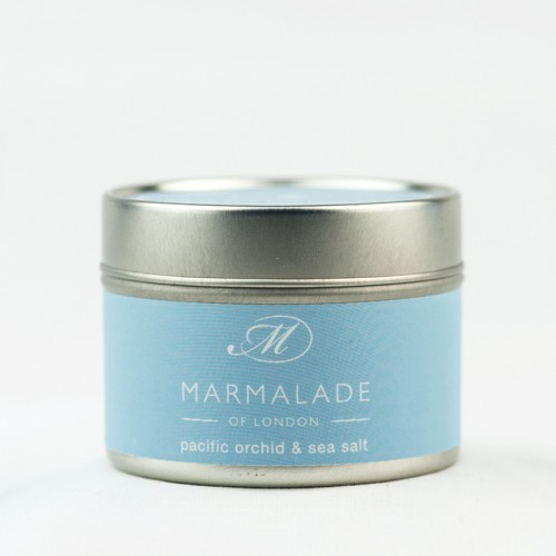 Pacific Orchid & Sea Salt - Small Candle Tin