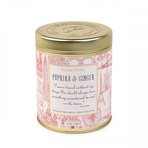 Paprika & Ginger - Large Candle Tin