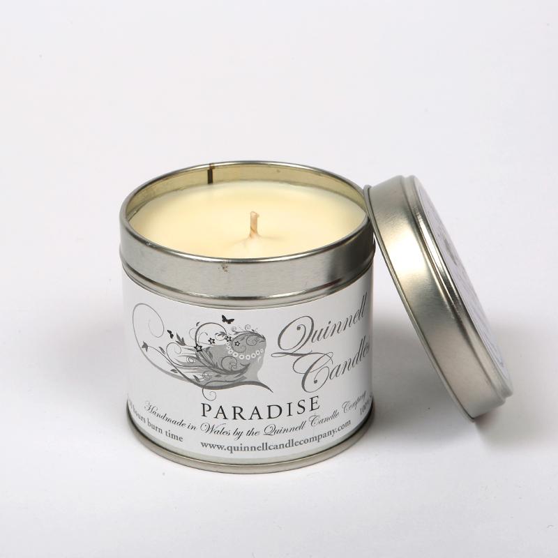 Paradise - Large Candle Tin