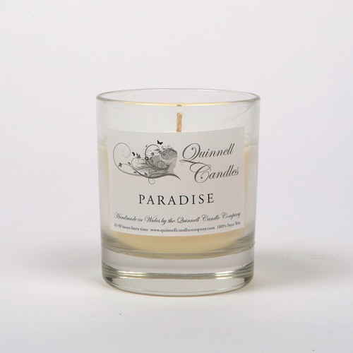 Paradise - Small Candle Glass