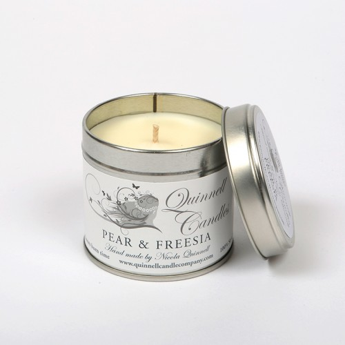 Pear & Freesia - Large Candle Tin