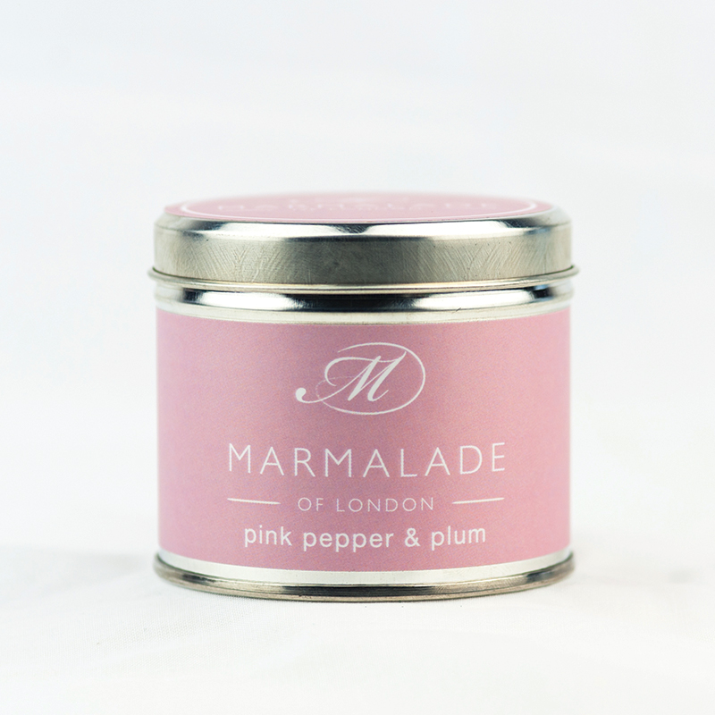 Pink Pepper & Plum - Large Candle Tin