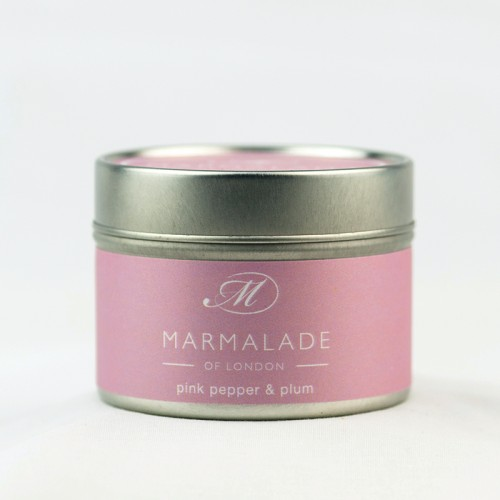 Pink Pepper & Plum - Small Candle Tin