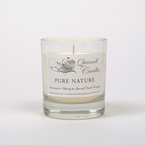 Pure Nature - Small Candle Glass